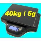 BALANCE ELECTRONIQUE + ADAPTATEUR 40 kg / 5 grammes NEUF animaux colis