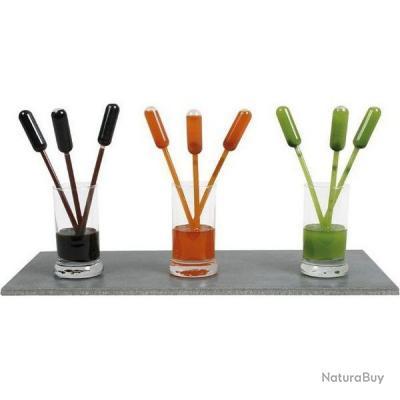 pipettes pour sauces 1ml gradu es ustensiles de cuisine. Black Bedroom Furniture Sets. Home Design Ideas