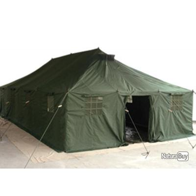 Tente militaire grand mod le 10m x 4 80 camping outdoor for Tente 3 chambres pas cher