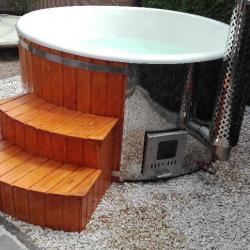sauna 3 pieces avec un bain nordique offert saunas 1112471. Black Bedroom Furniture Sets. Home Design Ideas