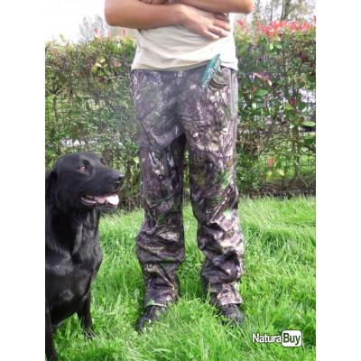 Pantalon chasse battue hutte pigeon SPORTCHIEF softshell L ! destockage, prix dementiel