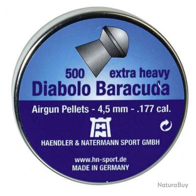 Plombs Baracuda Pointu 4.5 mm