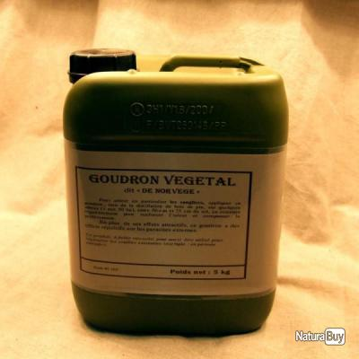 Goudron végétal dit « de Norvège » en pot de 5 Kg