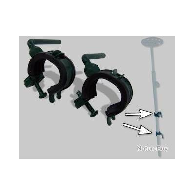 2 crochets de fixation sur cadre pour pompe m caniques et accessoires 2232978. Black Bedroom Furniture Sets. Home Design Ideas