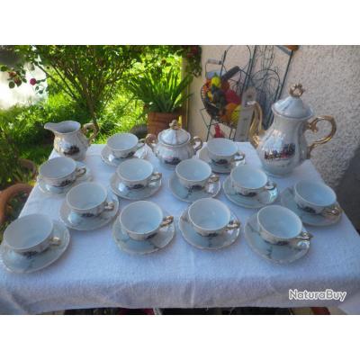 ancien service caf en porcelaine accessoires divers 2239065. Black Bedroom Furniture Sets. Home Design Ideas