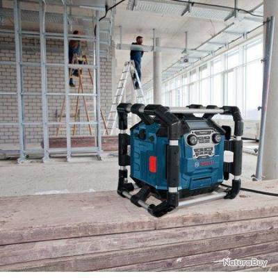 bosch radio de chantier power box gml 20 radio 2242209. Black Bedroom Furniture Sets. Home Design Ideas