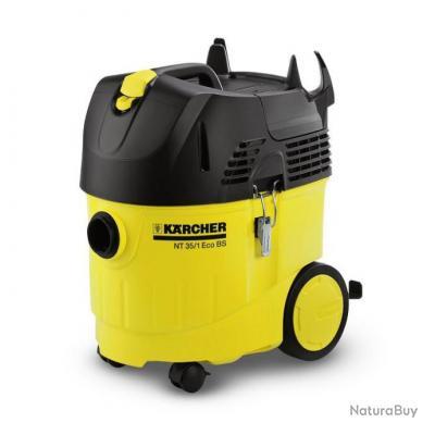 karcher aspirateur eau et poussi re 35l 1380w nt35 1 tact bs aspirateurs industriels 2242240. Black Bedroom Furniture Sets. Home Design Ideas
