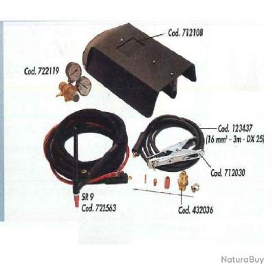 Telwin - Kit soudure Technology 145,165,200,160CE, et Tecnica 1000,100,140