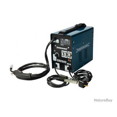Silverline - Poste à souder Turbo MIG sans gaz 90 A - 282562