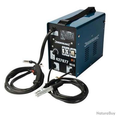Silverline - Poste à souder sans gaz Turbo MIG 120 A - 427677