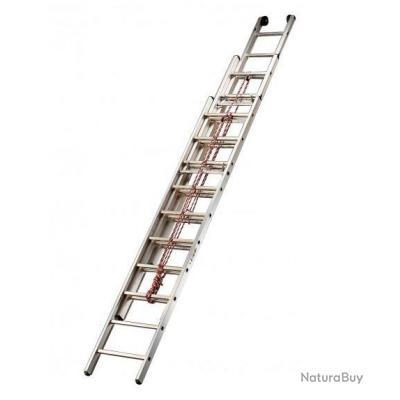 tubesca echelle coulissante corde 3x10 haut max pronor 1233010 echelles 2245074. Black Bedroom Furniture Sets. Home Design Ideas