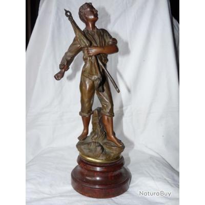 sculpture bronze ruchot
