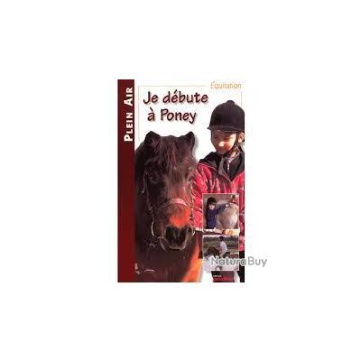 Équitation, je débute à poney.