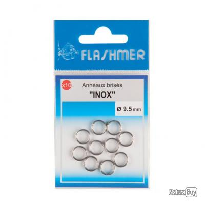 Anneaux brisés INOX - 11mm - FLASHMER
