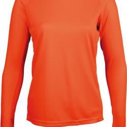 049f6810b84 T-shirt manches longues femme orange fluo - XL - P444 - Tee-shirts de  Chasse (2252832)