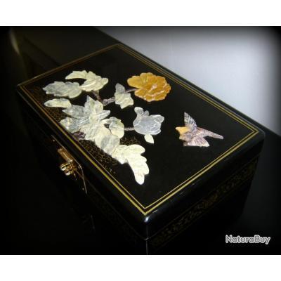 boite bijoux d cor japonisant napol on iii d cor marbre objets divers 2277591. Black Bedroom Furniture Sets. Home Design Ideas