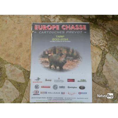 Catalogue Europe Chasse