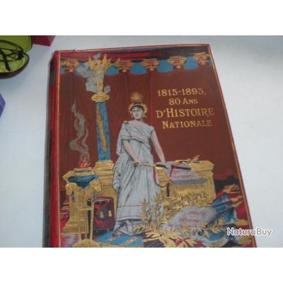 Vends livre 1815 a1895