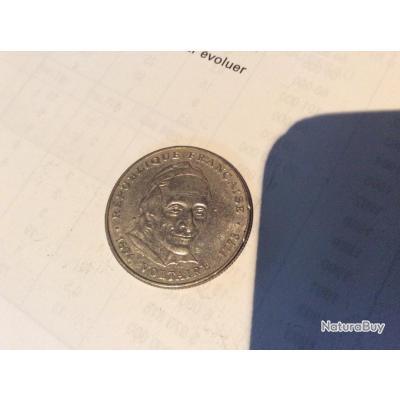 piece de 5 francs voltaire de 1994