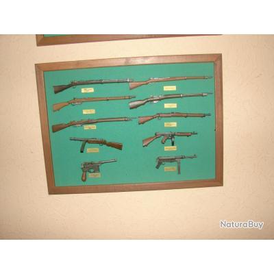 fusils miniatures collection hachette complete miniatures diverses 2310759. Black Bedroom Furniture Sets. Home Design Ideas