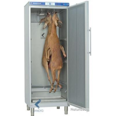 Chambre froide pour gibiers LU9000 (6.Génération) premium Argenté frais de port inclus