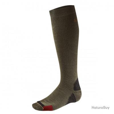 chaussettes haute de compression h rkila homme big game dark green m chaussettes 2330759. Black Bedroom Furniture Sets. Home Design Ideas