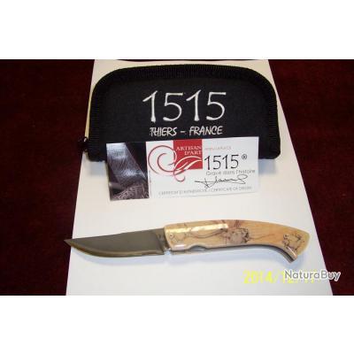 couteaux thiers 1515 motif cerf   idee cadeaux