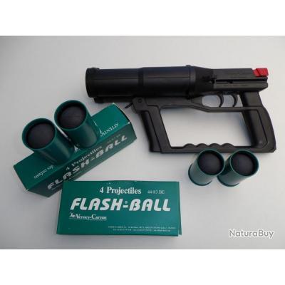 FLASH ? BALL   COMPACT  F101 avec 8 Cartouches de Cal 44/83