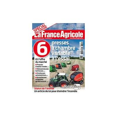 La france agricole n 3563 6 presses a chambre variable a l for Chambre agricole