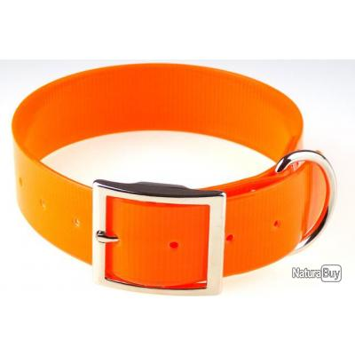 Collier US 38 mm x 60 cm Orange # déstockage #