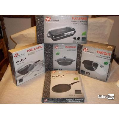 Lot de cuisson tous feux induction pradel excellence for Ustensiles de cuisine induction
