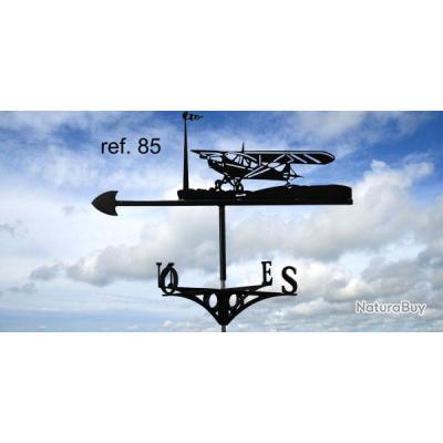 girouette de toit motif avion cessna d corations de. Black Bedroom Furniture Sets. Home Design Ideas