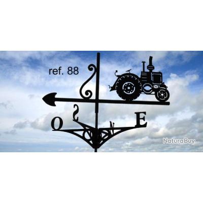 girouette de toit motif tracteur vierzon d corations de jardin 2388380. Black Bedroom Furniture Sets. Home Design Ideas
