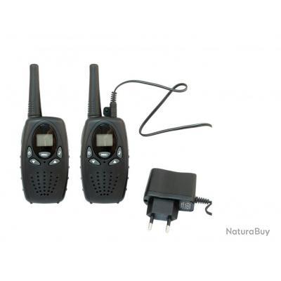 kit 2 talkie walkie rti avec oreillette talkies walkies et accessoires 2390912. Black Bedroom Furniture Sets. Home Design Ideas