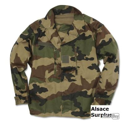 veste treillis f2 militaire camouflage cce arm e fran aise airsoft chasse outdoor 112m neuve. Black Bedroom Furniture Sets. Home Design Ideas