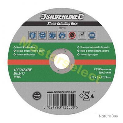 6 x disque a tronconner pour la pierre meuleuse 115mm pas cher disque b ton 2405202 - Disque pour couper la pierre ...