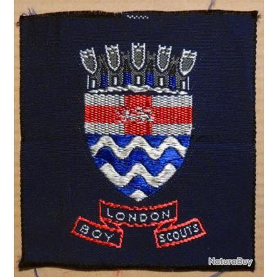 Patch coudre cusson des boy scouts anglais de londres for A coudre en anglais