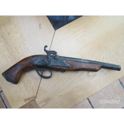 Pistolet silex r plique pour d coration pistolets for Pistolet decoration