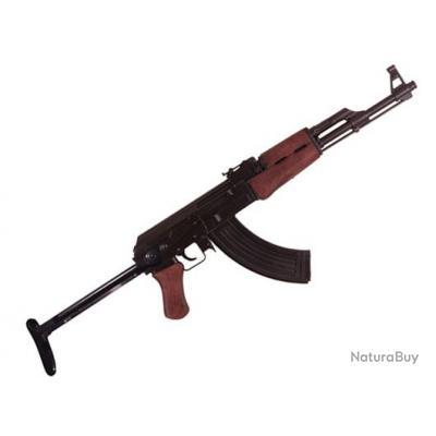 Offrez cette Réplique   AK  47  applée  KALASHNIKOV  crosse Métal pliable