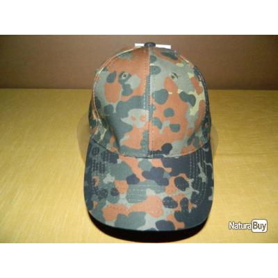 Casquette MFH type Base-Ball couleur camouflage