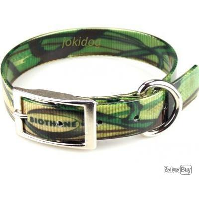 Collier BIOTHANE® CAMO  Vert 25 x 60 cm
