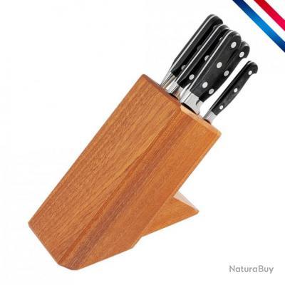 bloc 6 couteaux de cuisine forg s cuisine du chef couteaux de table et de cuisine 2483729. Black Bedroom Furniture Sets. Home Design Ideas