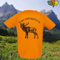 T shirt personnalisé année naissance : Les chasseurs naissent egaux