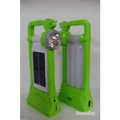 lampe autonome rechargeable solaire secteur 230v usb led orientable camping lampes 2501664. Black Bedroom Furniture Sets. Home Design Ideas