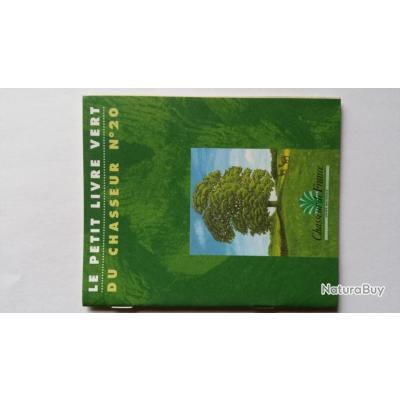 Le petit livre vert du chasseur n°20 - Livres sur l'univers de la chasse (petit et