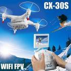 cheerson cx-30s h�licopt�re avec cam�ra HD et fpv transmission en temps r�el drone a men� la lumi�re