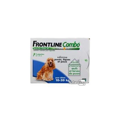 FRONTLINE COMBO Chien 4 pipettes Chien taille M
