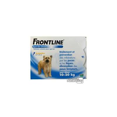 FRONTLINE Chien 12 pipettes Chien taille M