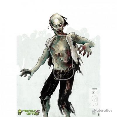 Cibles Zombie Revolt Army - Pack de 10