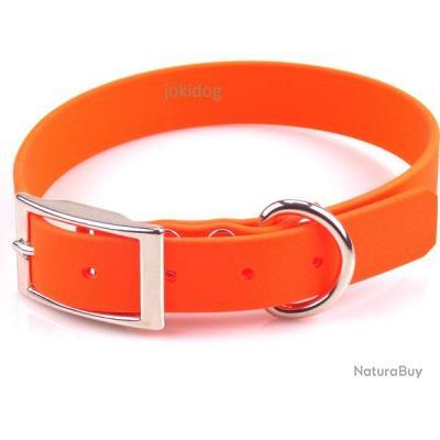Collier BIO-HEAVY 25 mm x 60 cm Orange
